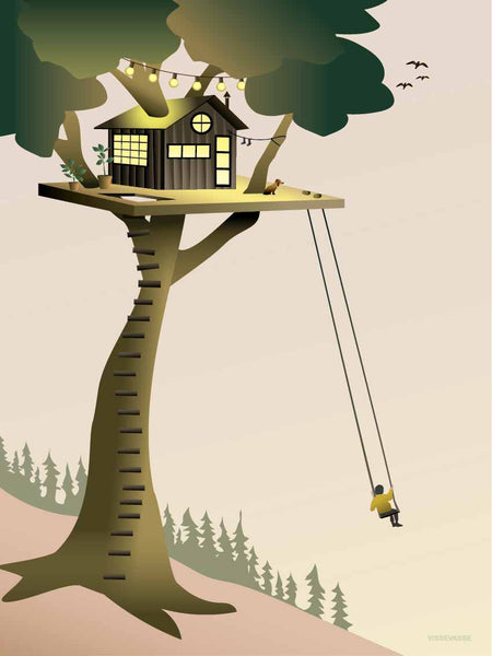 Tree House - plakat