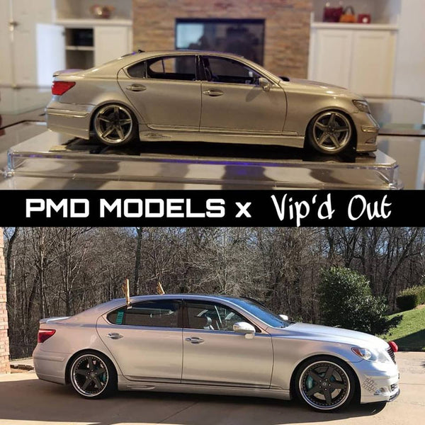 PMD Models builds Vipdout 1|24 Scale LS460L