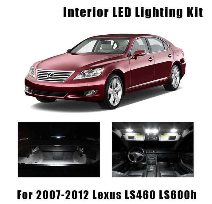 2007-2012 Lexus LS460 Lighting Interior replacement
