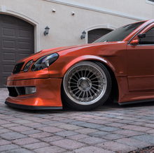 Load image into Gallery viewer, Ulterior Motives 1998-2005 Lexus GS300/GS400 Weld-On Front Fender Flares (a pair)