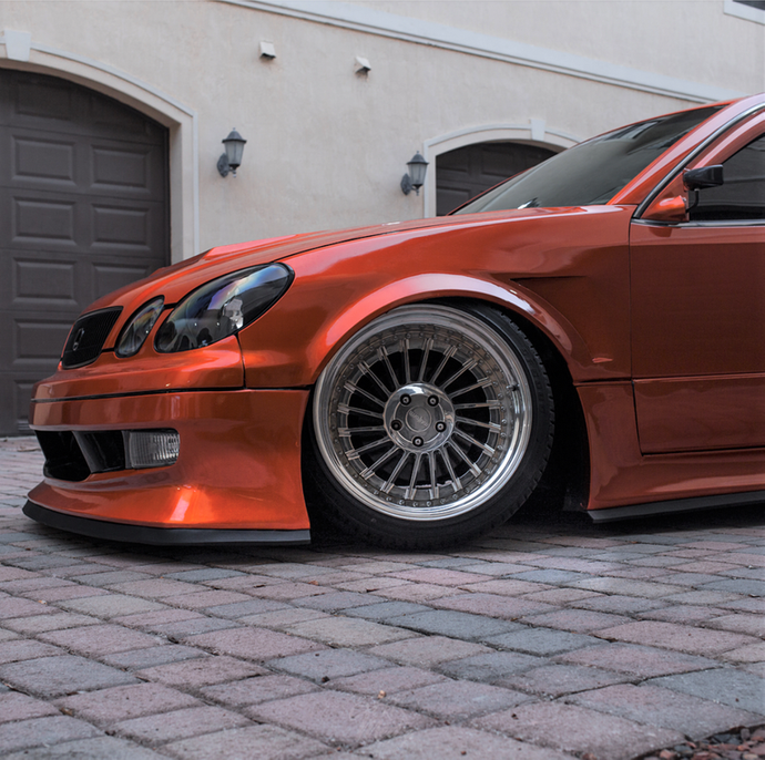 Ulterior Motives 1998-2005 Lexus GS300/GS400 Weld-On Front Fender Flares (a pair)