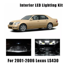 Load image into Gallery viewer, 2001-2006 Lexus LS430 18pcs White LED Bulbs