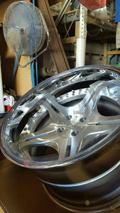 Vipdout-05 3P concave forged wheels