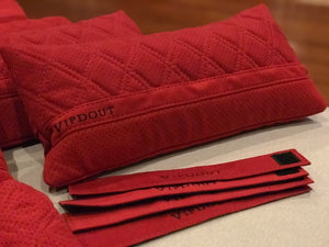 Vipdout Suede Medium Pillows