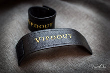 Load image into Gallery viewer, Vipdout Suede Curtain Strap