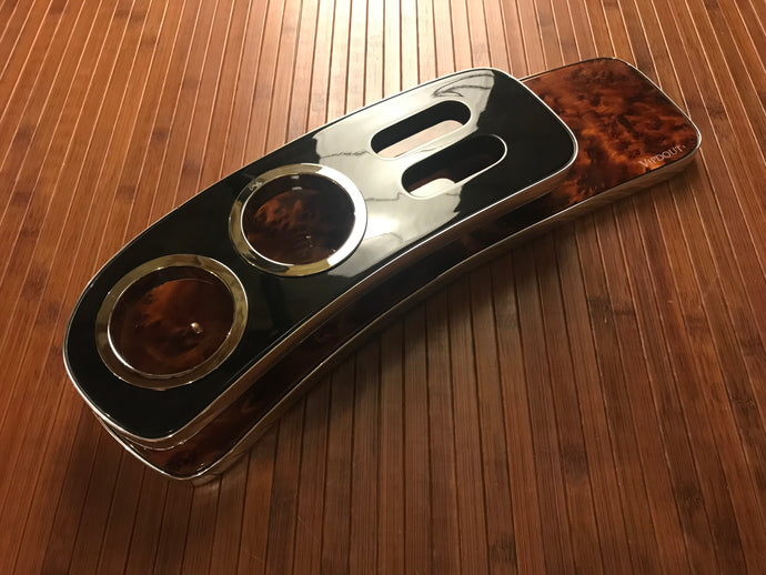 Ready to ship Vipdout Burl and Black viptray