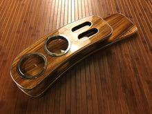 Load image into Gallery viewer, Ready to ship Vipdout burned grain zebra wood viptray
