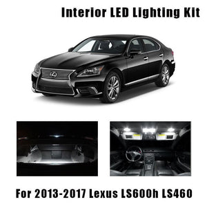 2013+Lexus LS460 Lighting Interior replacement