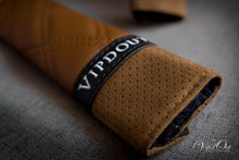 Load image into Gallery viewer, Vipdout Double Diamond Stitched Seatbelt pads