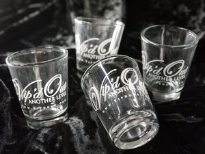 "Vipdout Shot Glasses ""sold in pairs"" ( Sold out )"