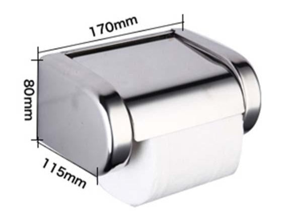 Bathroom Toilet Paper Holder Chrome