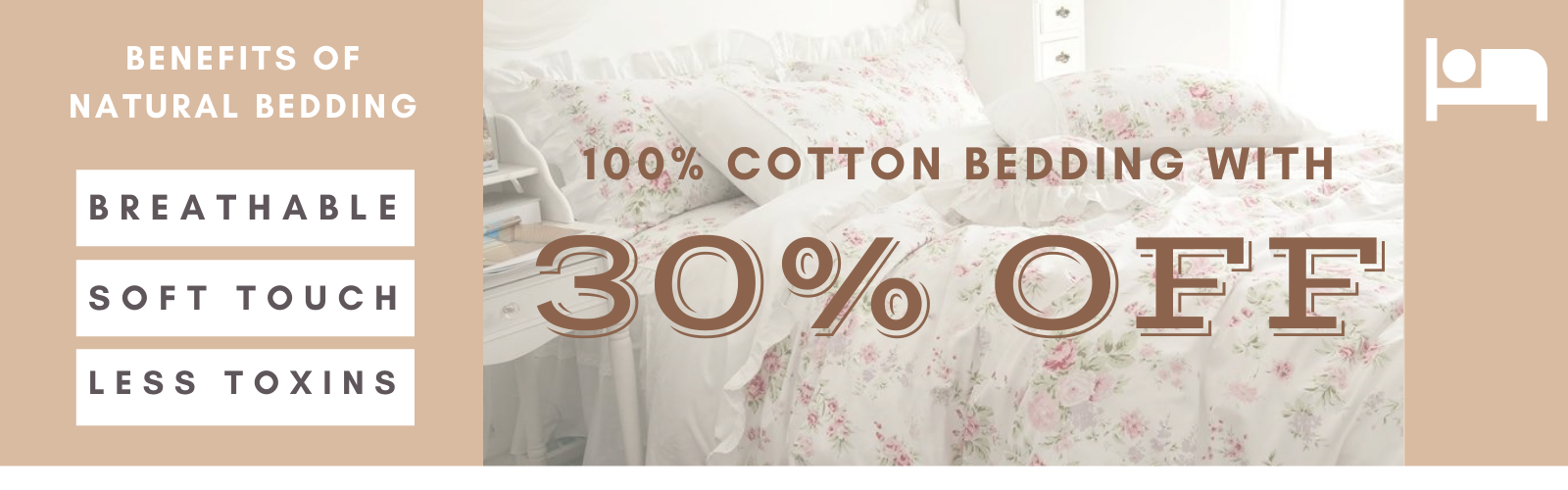 Flat Discount on Cotton Bedding Sets Now on SALE