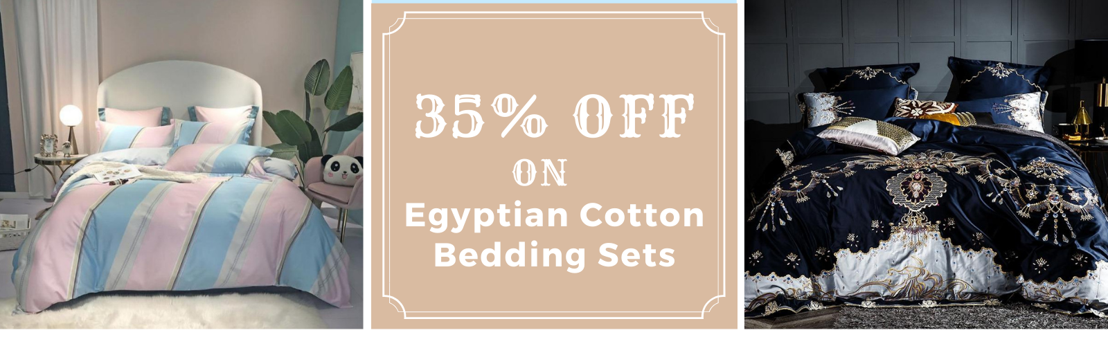 Flat Discount On Egyptian Cotton Bed Sheet Sets On SALE