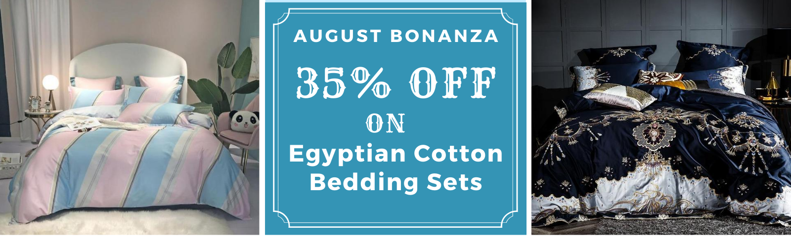 Upto 35% Discount on Egyptian Cotton Sheets and Bedding Sets
