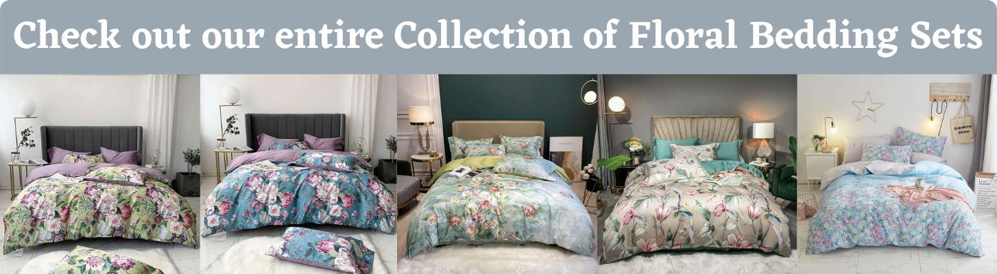 Collection of Floral Bedding Sets