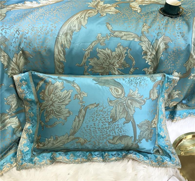 Jacquard Satin Luxury Duvet Cover Set