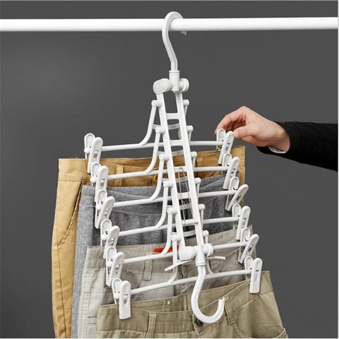 Adjustable Rotating Multi-Functional Clip Hanger