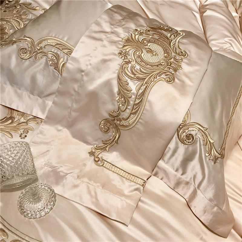 Luxury Satin Silk Bedding Set
