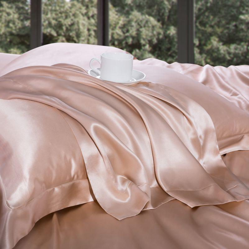 Ultra Soft Mulberry Silk Bedding Sheet Set