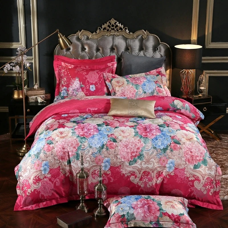 Floral Bedding Set for Girls Bedroom Decor