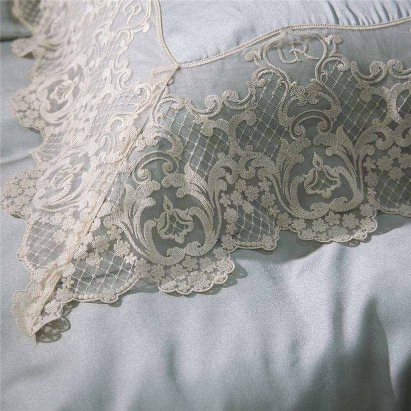 Luxury Lace Silk Bedding Set