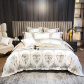 1200TC Luxury Egyptian Cotton Chic Bedding Set