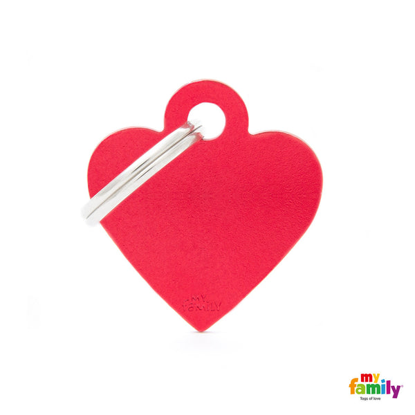 Small Red Heart Tag