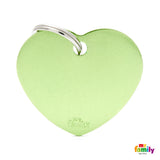 Big Heart Green Tag
