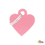 Small Pink Heart Tag