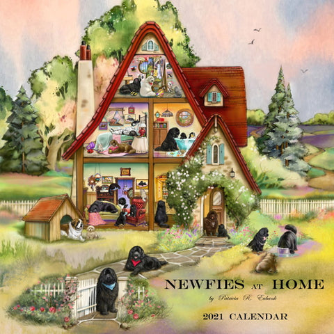 Newfies at Home 2021 Calendar