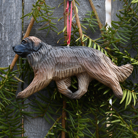 Handcrafted Leonberger Ornament