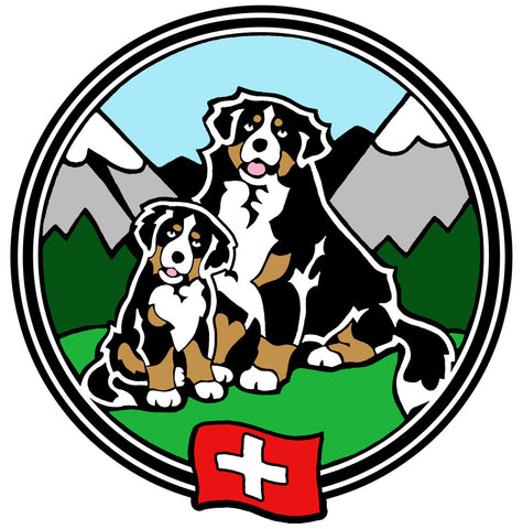 Bernese Swiss Flag Magnet - Large