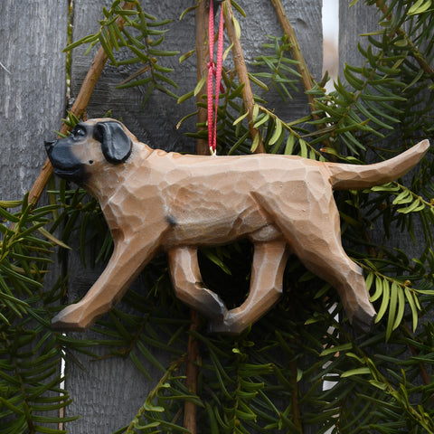 Handcrafted Mastiff Ornament