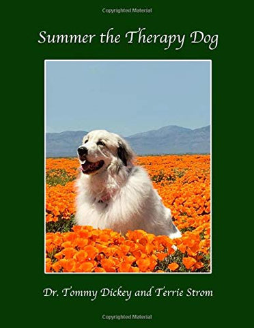 summer the therapy dog