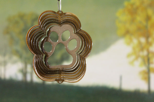 "3"" Itsy Bitsy Paw Ornament - Copper Starlight"