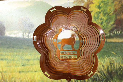 "12"" Bernese Wind Spinner - Copper"