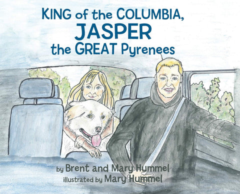 King of the Columbia, JASPER the GREAT Pyrenees
