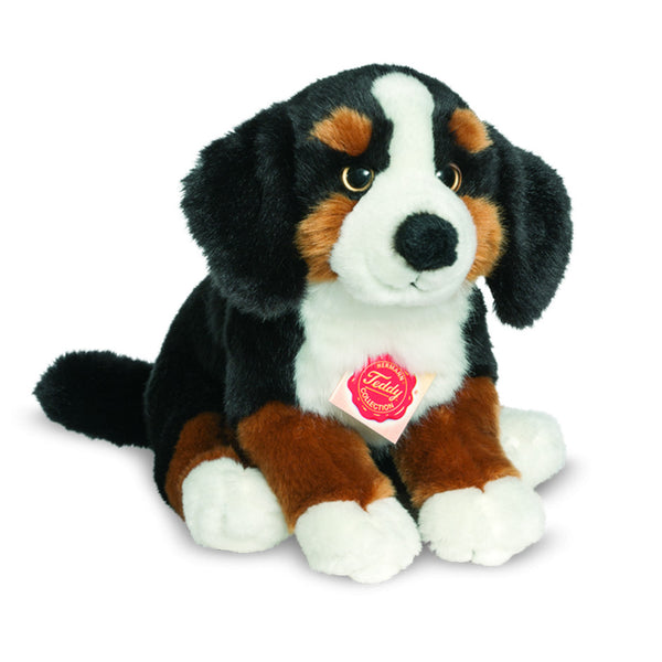 Bernese Sitting Plush Dog 11""