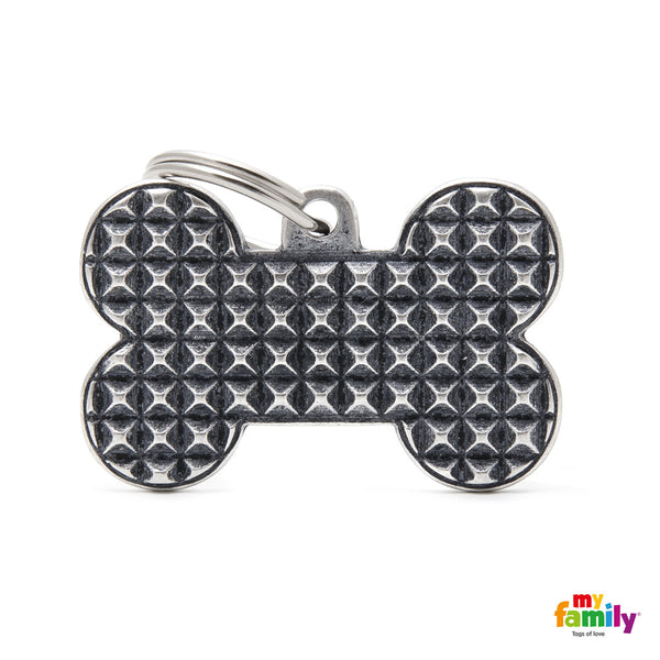 Big Bone Bronx Studs Tag