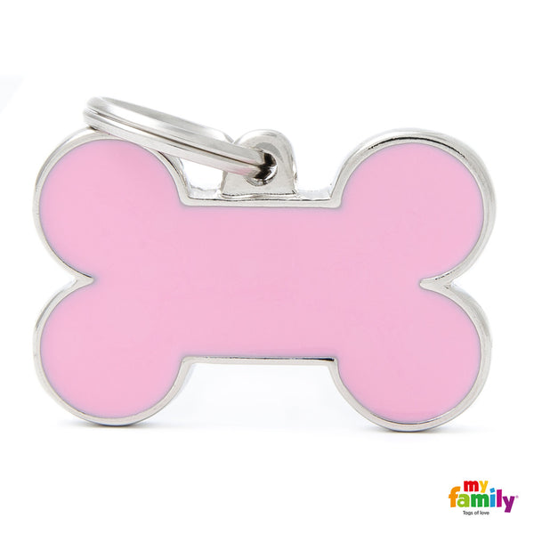 Big Bone Pink Tag