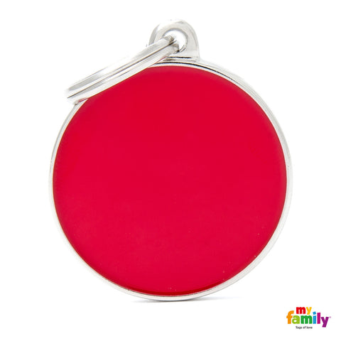 Big Circle Red Tag