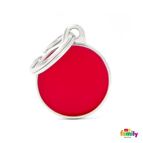 Small Circle Red Tag