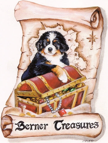 Berner Treasures Decal