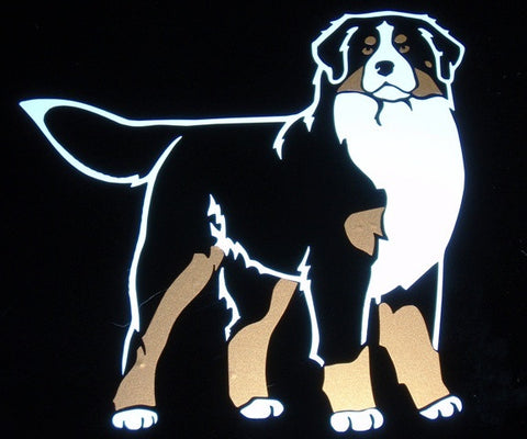 Bernese Decal for Tinted Glass
