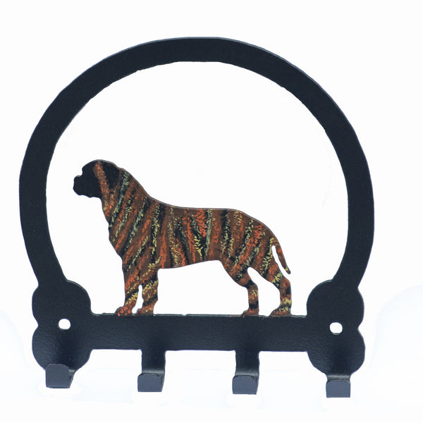 Bullmastiff Key Holder - Brindle