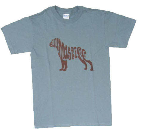 Bullmastiff T-Shirt - Stone Blue