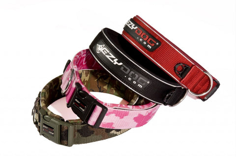EzyDog Neoprene Classic Collar WIDE for Large Dogs*