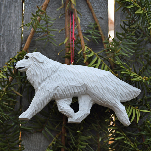 Handcrafted Great Pyrenees Ornament