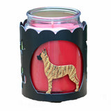 Great Dane Jar Candle Wrap - Brindle