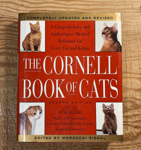The Cornell Book of Cats: A Comprehensive & Authoritative Medical Reference for Every Cat & Kitten, used